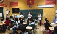 Israeli volunteers teach English to Sa Pa children