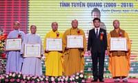 Tuyen Quang province Buddhist Sangha celebrates 10th anniversary