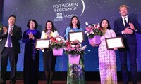 Female scientists honored