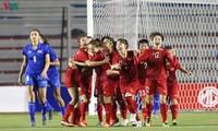 Vietnam women win football gold at SEA Games 30
