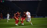 0 - 0 draw between Vietnam - the UAE at 2020 AFC U23 Championship