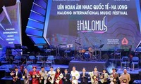 2020 Ha Long international music festival closes