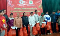 Vietnam Fatherland Front cares for Tet of ethic people