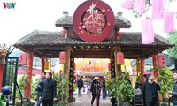 Thousands of people visit Temple of Literature in Hanoi