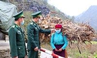 Border guard soldiers join efforts to combat COVID-19