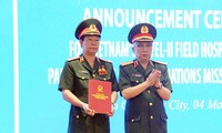 Vietnam's another field hospital to be destined for South Sudan