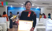 Ethnic minority women in Dak Lak keep their hamlets peaceful