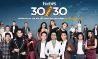 """Three Vietnamese make Forbes """"30 Under 30 Asia"""" list"""