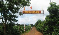 Plei Bui, model new-style rural village in Gia Lai province