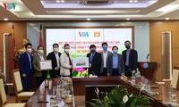 3,000 medical masks presented to VOV staff