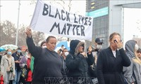 Discrimination protests spread outside US