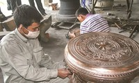 Tra Dong village in Thanh Hoa preserves traditional bronze casting