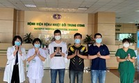 Five more COVID-19 patients discharged from hospitals