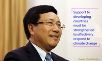 Vietnam works with international community in climate change response