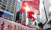 Hong Kong chief  says national security law conducive to stability