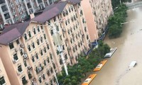 China issues red alert for flood