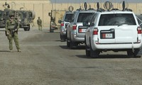 International alliance forces withdraw from military bases in Iraq