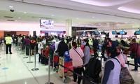 Vietnamese citizens in Australia, New Zealand, Tonga returned home