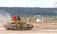 Vietnam's tank crew advances to semi-finals of Tank Biathlon 2020