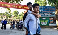 Riding piggyback to school, a real-life fairy tale