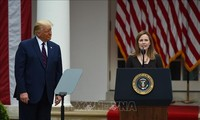 US Senate minority leader opposes Trump's Supreme Court nomination