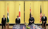 The Quad agrees on cooperation toward a free and open Indo-Pacific region
