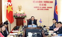 ASEAN Ministers confirm efforts to promote social welfare and capability of workforce