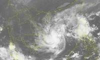 Storm Etau heads toward south central  Vietnam, more rains forecast