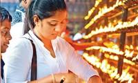 Poya Day, a full moon-based religious holiday in Sri Lanka