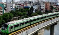 Hanoi's first metro line starts trial run