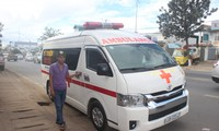 Charity ambulance service helps disadvantaged patients in Lam Dong