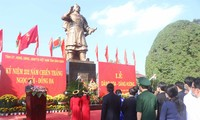 Incense offering to mark the 232nd anniversary of Ngoc Hoi - Dong Da Victory