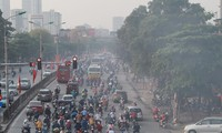 Hanoi records poor air quality, people advised to avoid outdoor activities