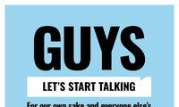 """""""Globalguytalk"""" invites men to talk about things they rarely mention"""