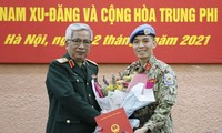 Vietnamese officer sent to UN headquarters mission