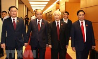 Leaders of foreign countries extend congratulations to the new leaders of Vietnam