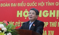 Deputy Chairman of the National Assembly meets voters in Quang Nam