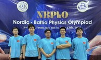 Hanoi students win medals at Nordic-Baltic Physics Olympiad