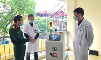 Transport robots being used in COVID-19 quarantine areas
