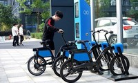 Hanoi to pilot e-bikes for rent linked with bus system
