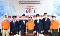 All Vietnamese contestants win silver at Int'l informatics Olympiad