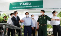 THACO donates special vehicles for vaccine transportation and vaccination