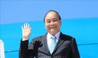 President Nguyen Xuan Phuc leaves New York for Hanoi