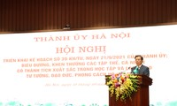 Hanoi promotes studying and following Ho Chi Minh's thoughts, morality, lifestyle