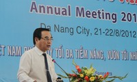Ouverture de la conférence annuelle des ports maritimes du Vietnam 2012