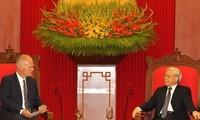 Nguyen Phu Trong: l'Union Européenne est un partenaire de premier rang