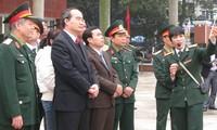 Nguyen Thien Nhan au Musée de la victoire contre les B52