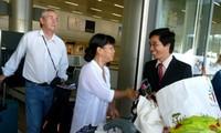 Les premiers touristes étrangers à poser pied sur le sol vietnamien en 2013