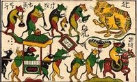 Expositions des estampes populaires du Vietnam en France