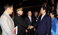 Le Premier Ministre Nguyen Tan Dung est arrivé en France
